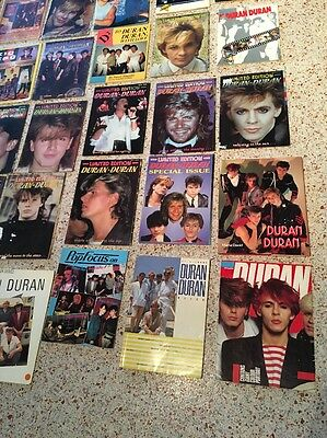 Duran Duran / Amazing Vintage Lot Of Magazines And Posters / Over 50 Items