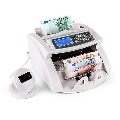 Banknote Money Counter Count Detector Fast Pound Euro Cash Machine  Ir Uv Test