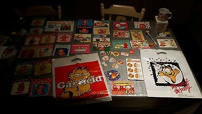 garfield mug bag pencil postcard book etc collection job lot