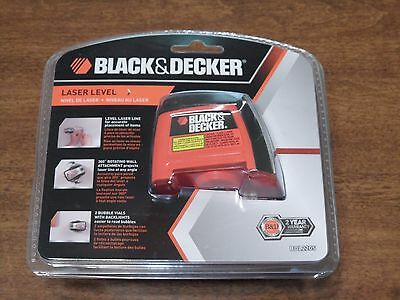Black & Decker BDL220S Laser Level  Wall Mounting Accessories BRAND NEW