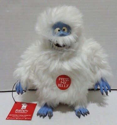 """Rudolph Company Playing Mantis Bumble Abominable Snowman Figure Roars 8"""" 2000"""