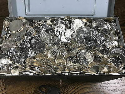 Uncirculated Silver Coins Old Us Collection Bu Lot Pre-1964 Estate Gold Bullion!
