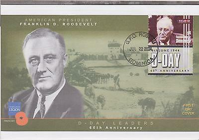 D-Day Leaders - 60th Anniversary - Franklin D Roosevelt - 2004 (X)
