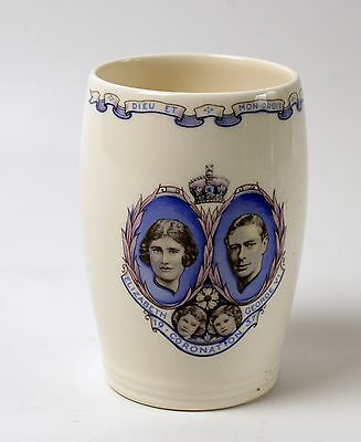 Wedgwood Beaker Cup 1937 Coronation of George VI Excellent Condition