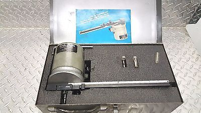 Bridgeport Scribe Master mill milling attachment in case with instructions wow!