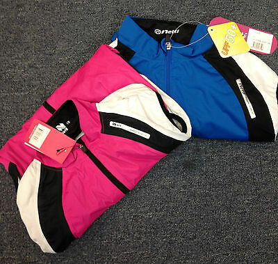 New Netti cycling vest Viper womens short sleeved pink or blue sleevless jersey