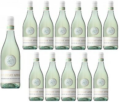 Saturday Affair NZ Marlborough Sauv Blanc White Wine 2016 (12x750ml) RRP $270