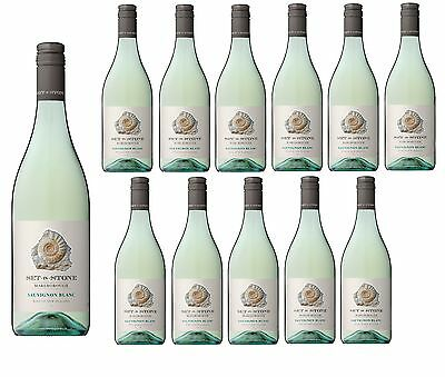Set in Stone NZ Marlborough Sauvignon Blanc White Wine 2016 (12x750ml)