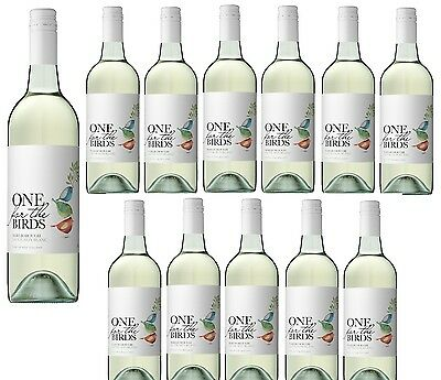 One For The Birds NZ Marlborough Sauvignon Blanc White Wine 2016 (12x750ml)