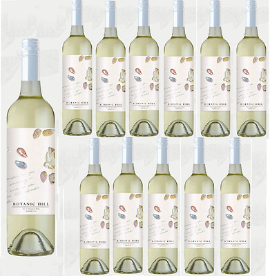 Botanic Hill Sauvignon Blanc White Wine 2012 (12x750ml)