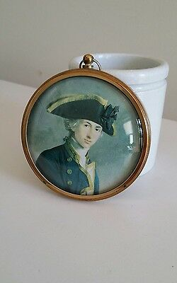 Vintage 'Horatio, Viscount Nelson' Hanging Cameo Print England