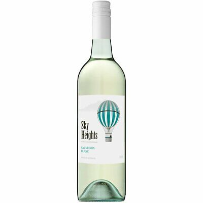 RRP$189 Sky Heights Sauvignon Blanc White Wine (12x750ml)- Fast & Free Shipping