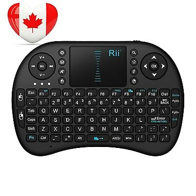 Rii® mini i8 2.4GHz Wireless XBMC Keyboard with Touchpad Mouse, Rechargable...