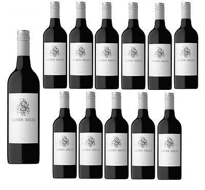 Silver Belle Shiraz Red Wine 2014 Free Shipping (12x750ml)- Free Shipping