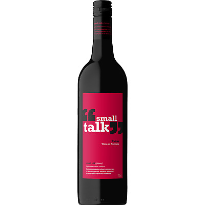 Small Talk Shiraz Red Wine (12x750ml)- Fast & Free Shipping! RRP$189