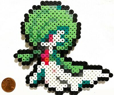 Gardevoir Pokemon Bead Sprite Perler Art Menu Icon