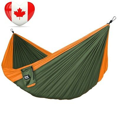 Camping Hammock Lightweight Portable Nylon Parachute for...