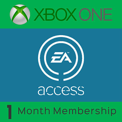 EA Access 1 Month Subscription Membership for Xbox ONE Fast Dispatch!