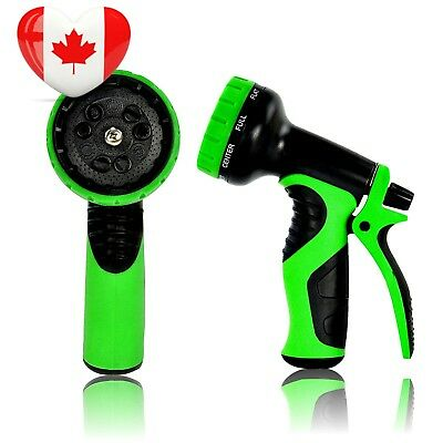 Top Rated Garden Hose Nozzle, Best hose nozzle with 9 settings. Perfect...
