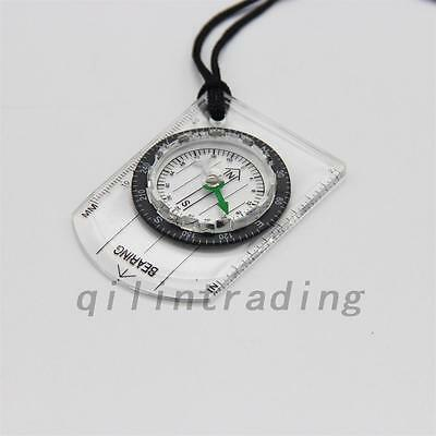 Camping Scouts Navigation Outdoor Survival Hiking Gear Compass Transparent