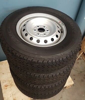 "Np300 D23 Rx 16"" Steel Wheels And Tyres"