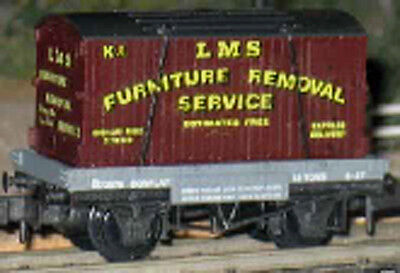 LMS Furniture Removal Freight Wagon Peco N Scale #NR-21