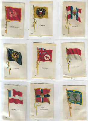 Cigarette Silks Flags Of The World (9) 1914 England Vintage Quilting Quilt