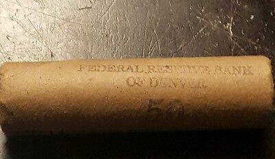 Full Roll of Indian Head Pennies 1859-1909 / 50 Coins / .01 Cent