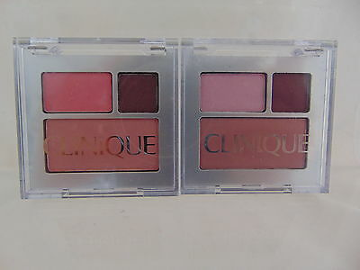 Clinique All About Shadow Duo & Blusher -Grey Compact- Chose Your Colour