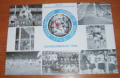 1966 World Cup German Issue Card, England Winners, Match Day Postmark 30/07/1966