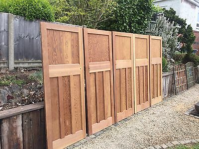 Reclaimed 1930s Pine Doors 1 Over 3 Stripped Door