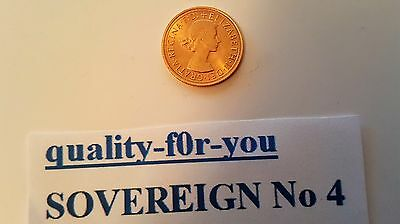 1962 Gold Full Sovereign - Elizabeth II Young Head very fine condion