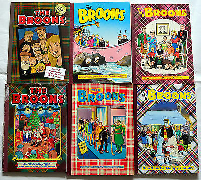 Broons Annuals mixed lot