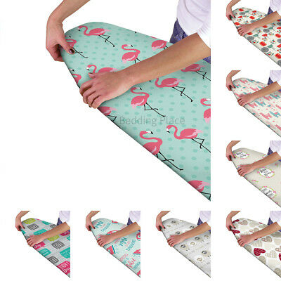 Easy Multi Fit Elasticated Ironing Board Cover Double Layer Backing Washable
