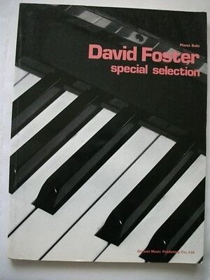David Foster Special Selection Japan Piano Solo Score