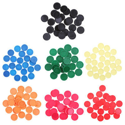 Plastic 24x Game Pieces Kids Math Counters Learning Train Materials Tool DIY