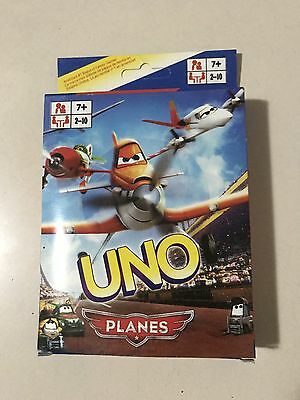 Planes UNO CARDS Family Fun Playing Card Educational Toy Theme Board Game