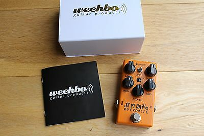 Weehbo JTM Drive overdrive guitar pedal *MINT*
