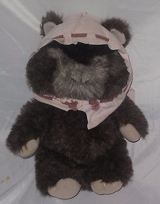 Kenner Plush Ewok Paploo 1984 Stuffed