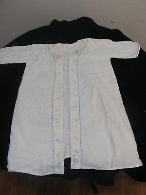 Vintage HAnd Stitched Embroidered Robe For Baby
