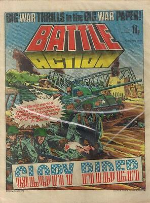 BATTLE (10 March 1979) World War 2 Nazis UK comic 2000AD Action IPC 2000AD