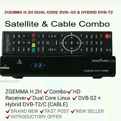 Zegmma H2.h With 18 Month Cable Vm  Warranty Box Support Service ☆☆☆☆☆