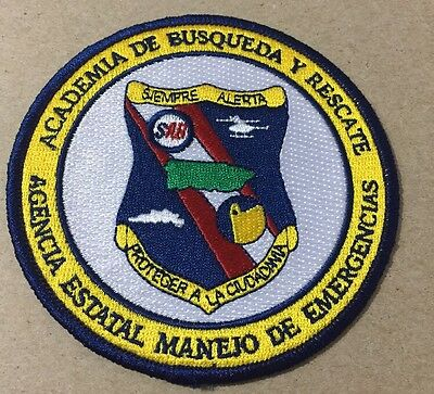 Puerto Rico Police Patch...state Agency Emergency Management