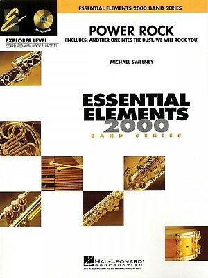 Power Rock Essential Elements Explorer Level Book and Audio NEW 000860504