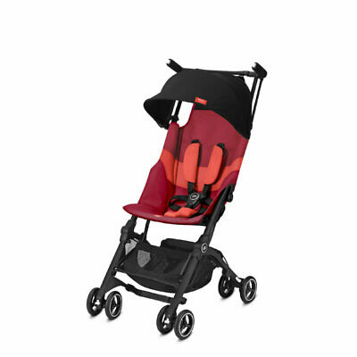 Poussette Pockit+ All-Terrain Rose Red de GoodBaby