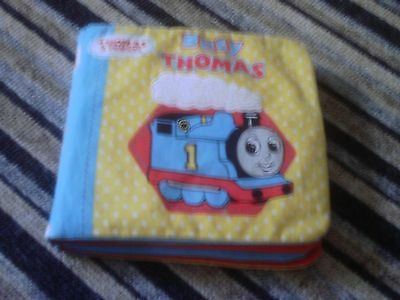 Thomas The Tank Engine Rag Book And Film Dvd