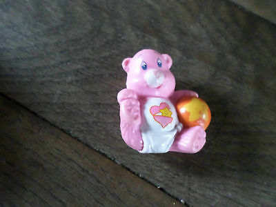 Small Vintage 1980s Care Bear Posable Figure - BABY