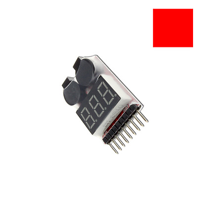 Lipo Alarm Piezo Tester Low Voltage Buzzer Checker Warner Li Akku Saver Spannung