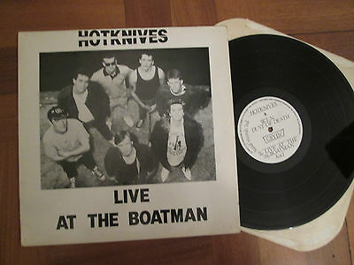 The Hotknives -  Live At The Boatman - UK Debut LP  1988 - Private Press