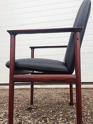 Pair Of 1960's Danish Rosewood Armchairs. Free London Delivery.